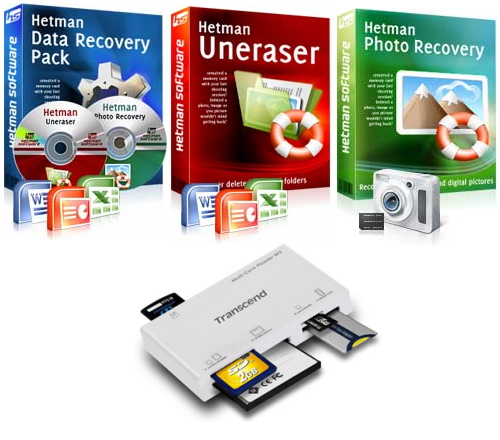 В пакет входят Hetman Uneraser 3.1 и Hetman Photo Recovery 2.0